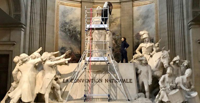 Réalisations au Panthéon
